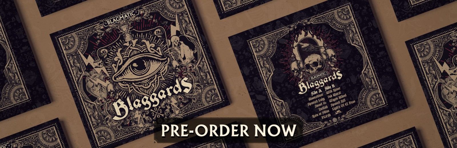 Pre-order our new album BLAGMATIC today!