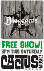 Free Show @ Cactus Music This Saturday, 3 PM