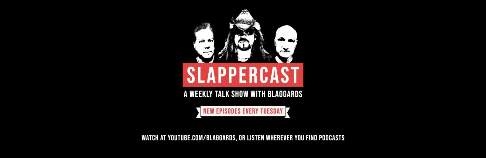 SlapperCast: a weekly talk show with Blaggards - New episodes every Tuesday
